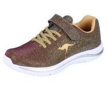 Sneaker changierend gold