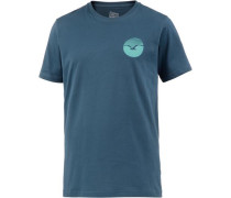 Sunrise T-Shirt blau