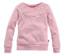 Kuschelshirt mit Pailletten für Mädchen pastellpink