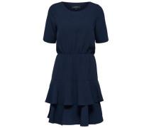 Kleid 3/4-Ärmel- nachtblau