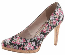 High-Heel-Pumps mischfarben