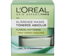'Tonerde Absolue Klärende Maske (green)' Gesichtsmaske hellgrün