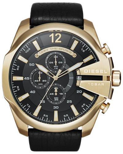 Chronograph 'mega Chief' gold / schwarz