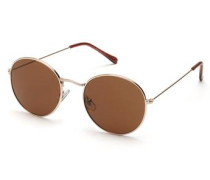 Sonnenbrille Runde braun