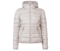 Jacke in Light Down-Optik beige