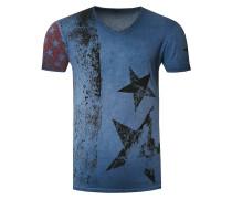Cooles T-Shirt mit V-Ausschnitt