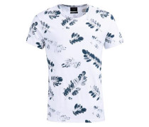 Shirt Tisco blau / weiß