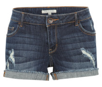 Jeans 'Basic Short' dunkelblau