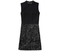 Kleid 'thdw Sequin Dress S/L 30' schwarz