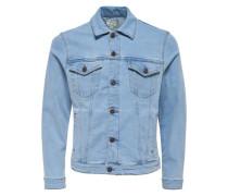 Leichte Jeansjacke hellblau