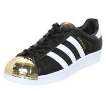 Sneaker 'Superstar' schwarz / weiß / gold