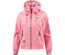 Regenjacke Damen braun / pink