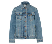 Jeansjacke '90S Rider Jacket' blue denim