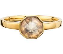 Ring »C1678R/90/ad« mit Kristallstein silber