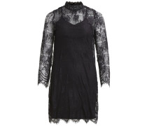 Spitzen- Kleid schwarz