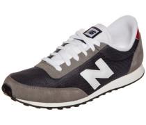 Sneaker nachtblau / greige / weiß