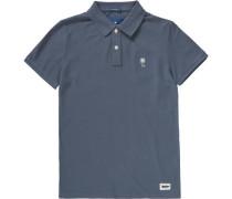 Poloshirt für Jungen taubenblau