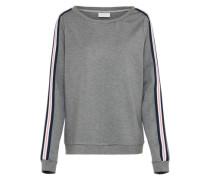 Sweatshirt 'zanza' graumeliert