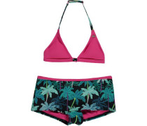 Bikini 'PG Selva Shorty' petrol / pink / schwarz
