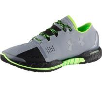 'Speedform Amp' Multifunktionsschuhe grau / neongrün / schwarz
