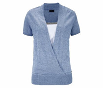 2-in-1-Pullover himmelblau