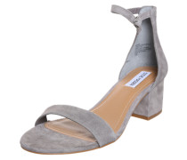 Wildleder-Sandale 'Irenee' grau