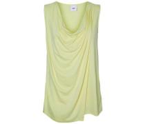 Still-Bluse ohne Ärmel pastellgelb