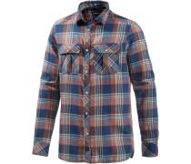 Flannelhemd 'violator Flannel' blau / mischfarben