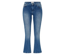 'Irina' Boot Cut Jeans blau / blue denim
