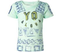 T-shirt 'Fairfox' blau / mint