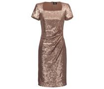 Paillettenkleid 'Candy' bronze / gold