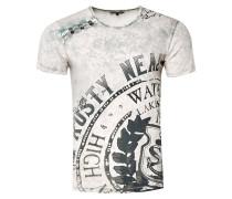 Cooles T-Shirt mit großem Print