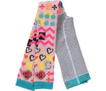 Leggings Abby für Mädchen hellblau / gelb / pink / rosa / schwarz / weiß