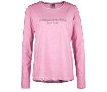 Longsleeve MIT NEW York-Motiv Hinten pink
