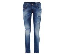 'grupee-S-Ne' JoggJeans Fit 84Cz blue denim