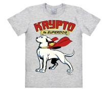 """T-Shirt """"Superdog - Krypto"""" grau"""