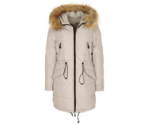 Wende-Daunenparka London beige
