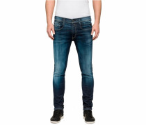 'Anbass Hyperflex' Slim-fit-Jeans blue denim