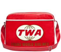 "Tasche ""twa Airlines"" rot"