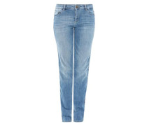 Smart Straight: Klassische Bluejeans blue denim