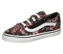 Old Skool Zip Moody Floral Sneaker Kleinkinder creme / rosa / schwarz