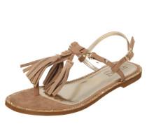 Sandale 'Teres' beige / gold