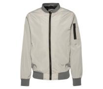 Jacke 'Bomber jacket' grau