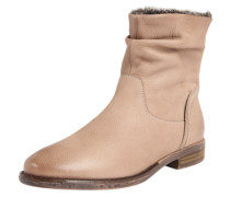 Ankle Boots 'Camilia-F' aus Leder taupe
