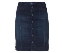 Jeansrock mit Knopfleiste blau