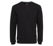 Sweatshirt Detailliertes schwarz