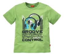 T-Shirt für Jungen türkis / grasgrün / schwarz / weiß