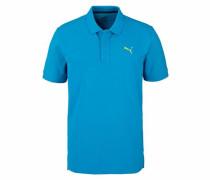 Poloshirt 'ess Pique Polo' blau