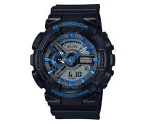 Chronograph 'ga-110Cb-1Aer' blau / schwarz