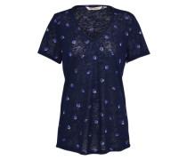 Casual T-Shirt nachtblau / mischfarben